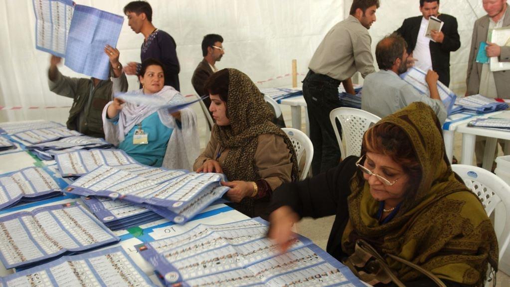 ربوده شدن فهرست رای دهندگان در یکی از مراکز رای دهی کابل