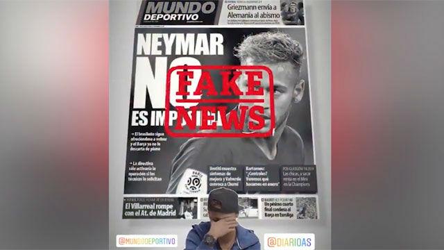 نیمار شایعه بازگشت به بارسلونا را تکذیب کرد+سند