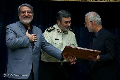 باشگاه خبرنگاران -مراسم تودیع و معارفه دبیرکل ستاد مبارزه با مواد مخدر