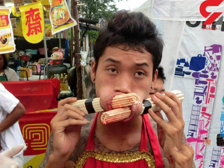 تصاویری دلهرهآور از جشنواره دیوانهها که شما را حیرت زده میکند!