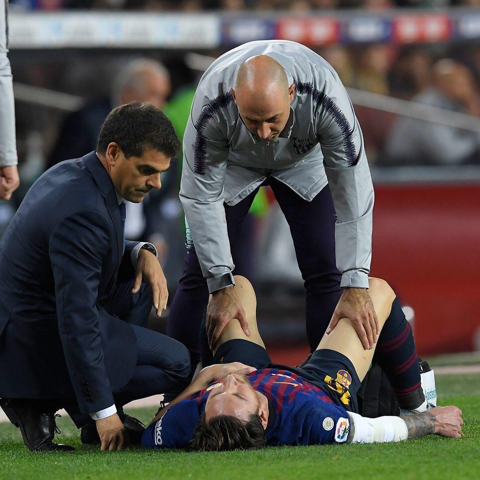 مسی ال کلاسیکو را از دست داد