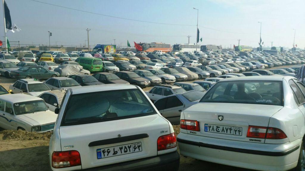 زائران خودروهای خود را در پارکینگهای شناسنامهدار و مجهز پارک کنند