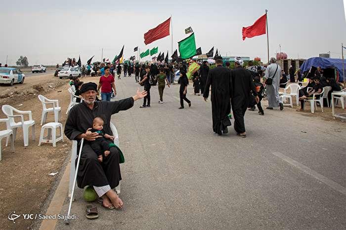 راهپیمایی عظیم اربعین حسینی - طریق ناصریه به خضر
