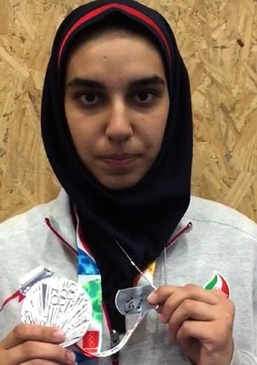 همتی: امیدوارم در جایگاه نخست المپیک قرار بگیرم