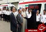 باشگاه خبرنگاران -اعزام ۹ دستگاه آمبولانس برای خدمات رسانی به زائران اربعین + تصاویر