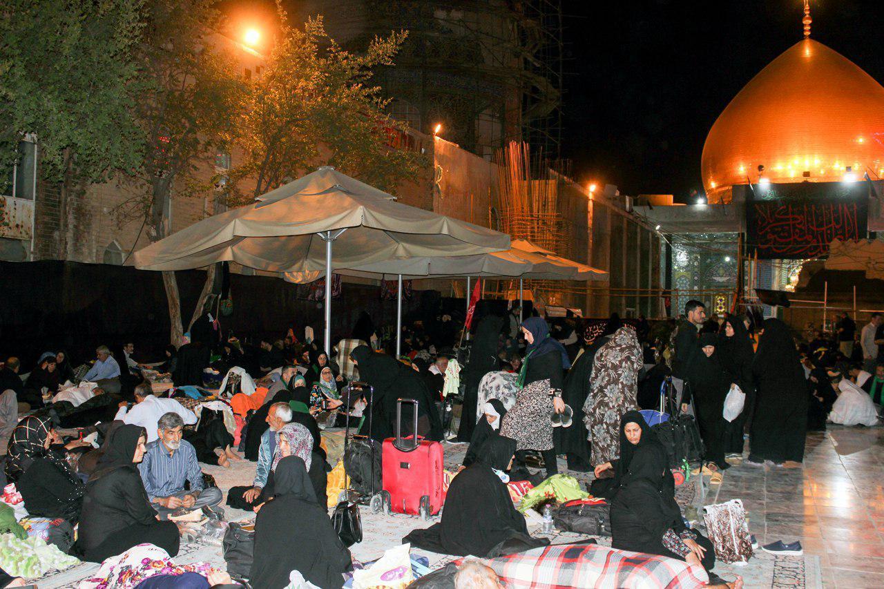آغاز فعالیت موکبهای ایرانی و اهل تسنن سامراء از زائران اربعین + عکس
