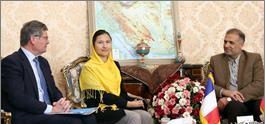 دیدار کاظم جلالی با روسای گروههای دوستی پارلمانی ایران و فرانسه