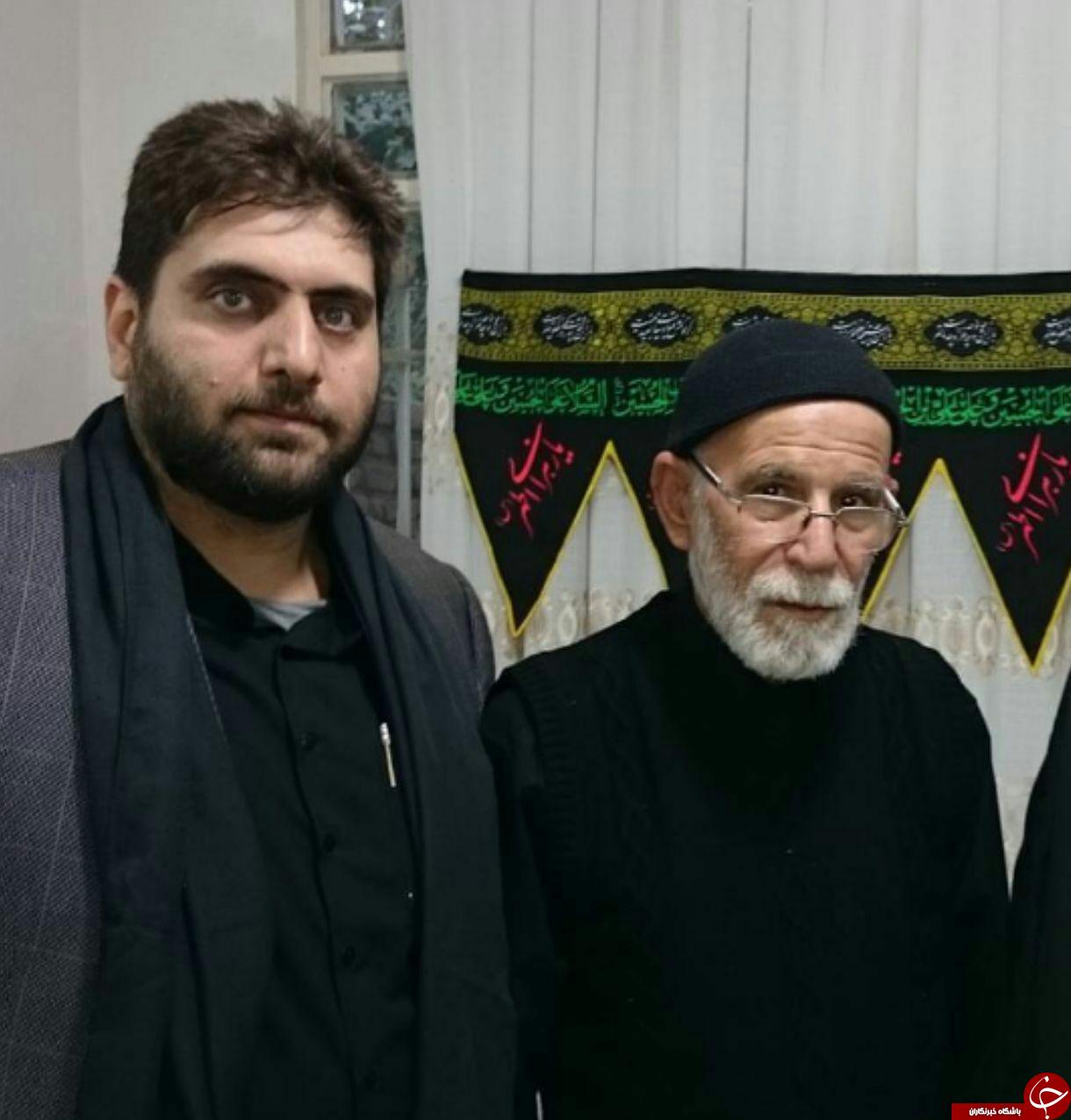 مداح جوانی که با توسل به سالار شهیدان دار فانی را وداع گفت+عکس