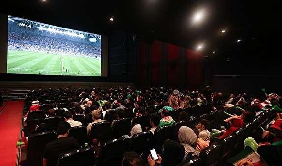درآمد نمایش فوتبال در سینماها به حساب خانه سینما واریز نشده است