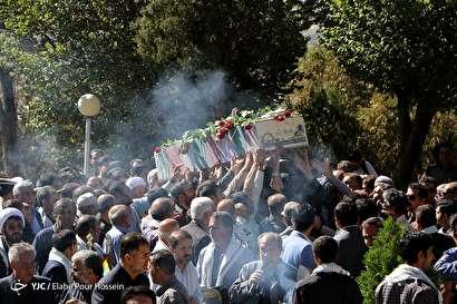 باشگاه خبرنگاران -تشییع و خاکسپاری پیکر مطهر شهید گمنام در شیراز