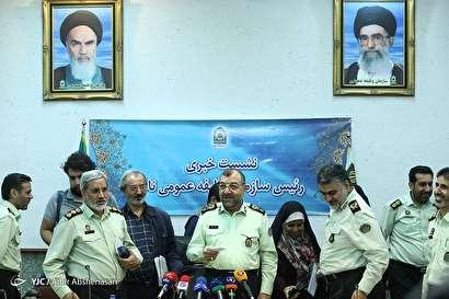 باشگاه خبرنگاران -نشست خبری رئیس سازمان نظام وظیفه عمومی ناجا