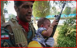 عوامل جنایت تروریستی اهواز در لحظه حمله +عکس