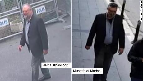 افشای هویت فردی که با لباس خاشقجی از کنسولگری عربستان در استانبول خارج شد+ عکس