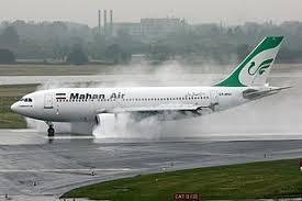 پرواز تهران - کیش در شیراز نشست