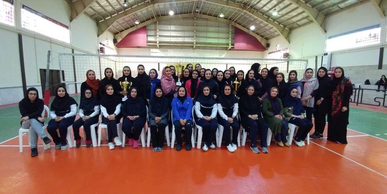 قهرمانی کردکوی در مسابقات والیبال بانوان استان گلستان