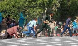 تازهترین فیلم از رشادت نظامیان و سربازان زیر باران گلوله تروریستها