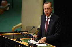 لحظه خروج اردوغان از سالن حین سخنرانی ترامپ در سازمان ملل + فیلم