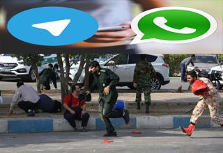 «واتس اپ و تلگرام» چگونه تروریستهای حادثه اهواز یاری رساندند؟