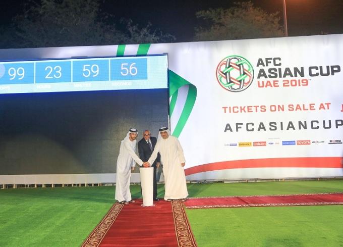 رونمایی از روزشمار جام ملتها با حضور دبیرکل AFC
