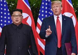 ترامپ: من و کیم عاشق هم شدیم!