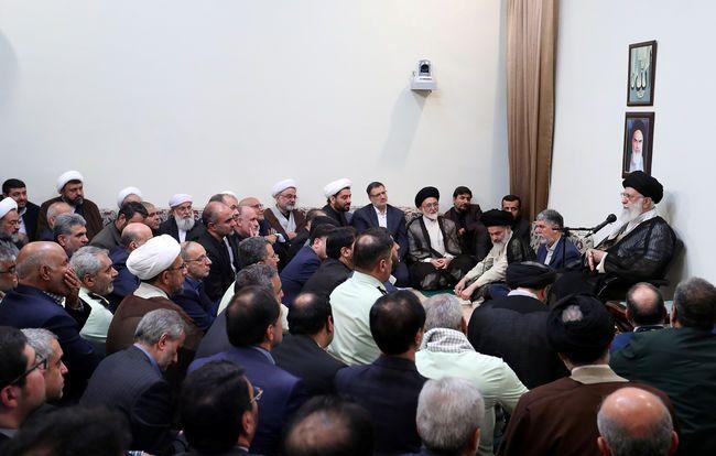 جمعی از مسئولان و دستاندرکاران حج با رهبر انقلاب دیدار کردند