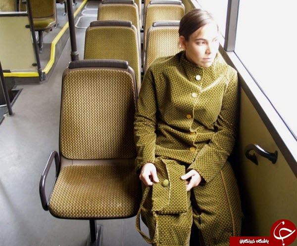 مانکنهایی عجیب مدل اتوبوس+عکس