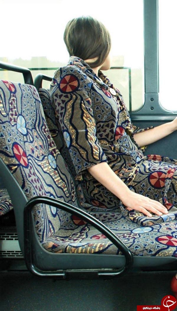 مانکنهای مدل اتوبوس شهری!+عکس