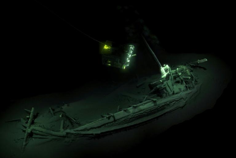کشف لاشه قدیمیترین کشتی تجاری جهان در اعماق دریای سیاه