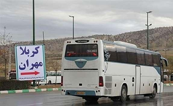 مشکلات زائران اربعین برای بازگشت به مرز مهران + فیلم