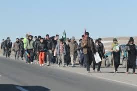اسکان بیش از 2 هزار زائر پیاده در قوچان
