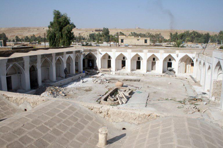 روزگار ناخوش بزرگترین بنای تاریخی کهگیلویه وبویراحمد/ احیای بافت قدیم دهدشت پشت دیوار کمبود اعتبار