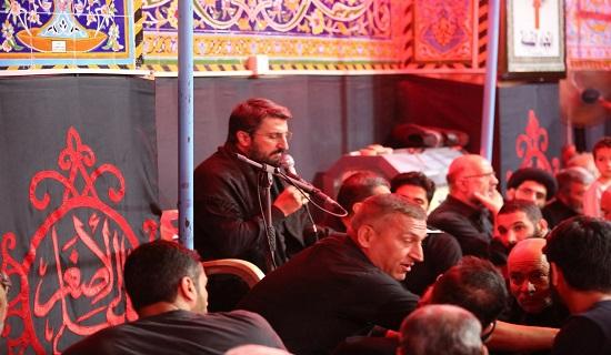 گزارش تصویری مراسم دعای کمیل در خیمه گاه سیدالشهدای کربلا