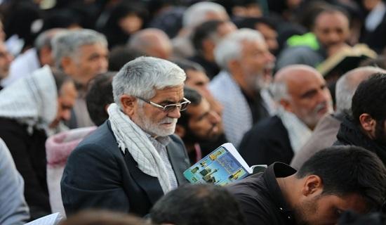 گزارش تصویری مراسم دعای ندبه در بین الحرمین کربلای معلی