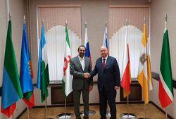 ملاقات سفیر ایران در روسیه با وزیر امور قفقاز شمالی