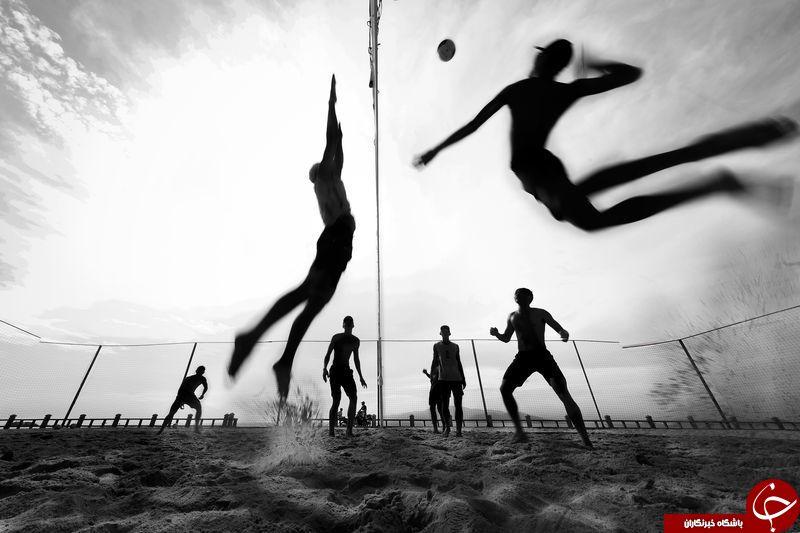 والیبال ساحلی در قاب تصویر نشنال جئوگرافیک