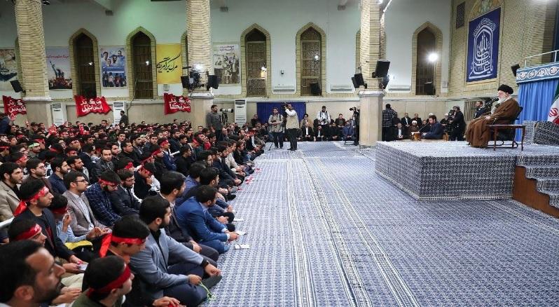 دانشآموزان و دانشجویان با رهبر معظم انقلاب اسلامی دیدار کردند