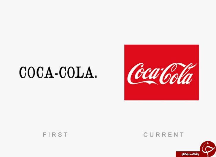 طرح اولیه لوگوهای برندهای معروف جهان چگونه بود؟ +تصاویر