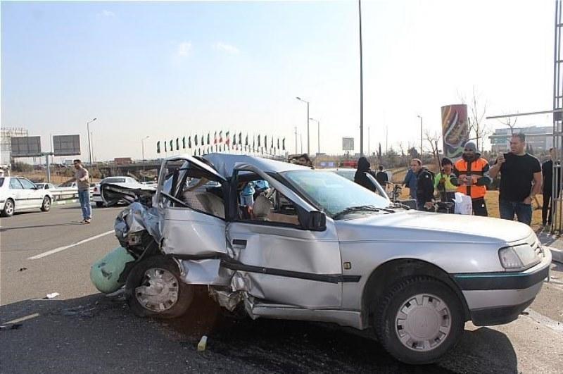 سرعت غیرمجاز راننده خودرو را به کشتن داد