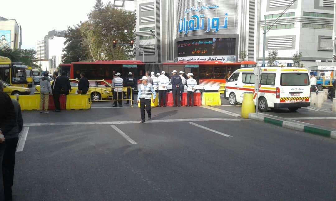 ممنوعیت تردد در مسیرهای راهپیمایی 13 آبان