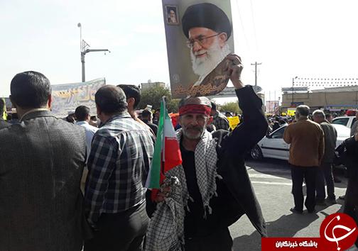 فریاد مرگ بر استکبار آسمان فارس را درنوردید