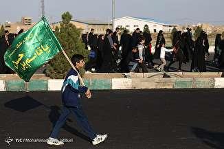 راهپیمایی جاماندگان اربعین حسینی در قم