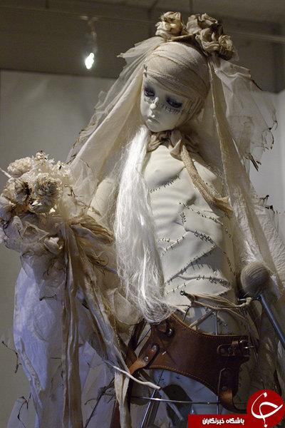 مجسمههای ترسناک آمیخته با مرگ (۱۶+)