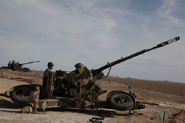 سامانه توپخانه پدافند هوایی «سراج» رونمایی شد