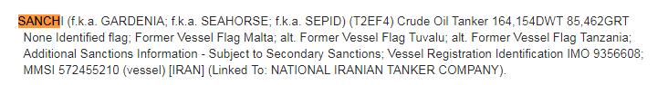 گاف احمقانه دولت ترامپ؛ کشتی غرقشده ایرانی در فهرست تحریمهای آمریکا