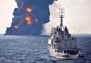 گاف احمقانه دولت آمریکا؛ کشتی غرقشده سانچی در فهرست تحریمهای ایران قرار گرفت!