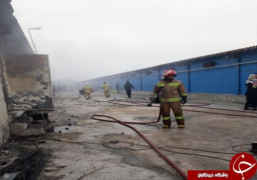 مرگ کارگر ساروی در حادثه آتش سوزی مرغداری + تصاویر