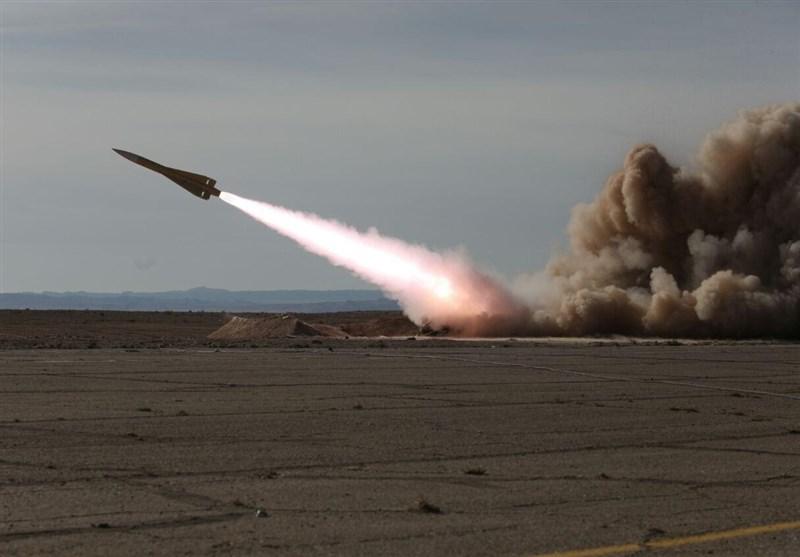 انهدام اهداف هوایی توسط موشکهای طبس و مرصاد