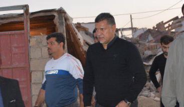 گزارش اینستاگرامی علی دایی از بازسازی مناطق زلزهزده و تشکر از مسئولان +تصاویر