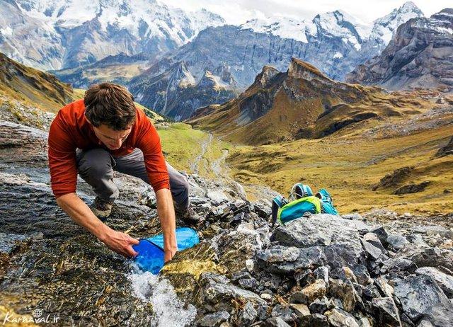 ترفندهای جالب برای تصفیه آب در طبیعت