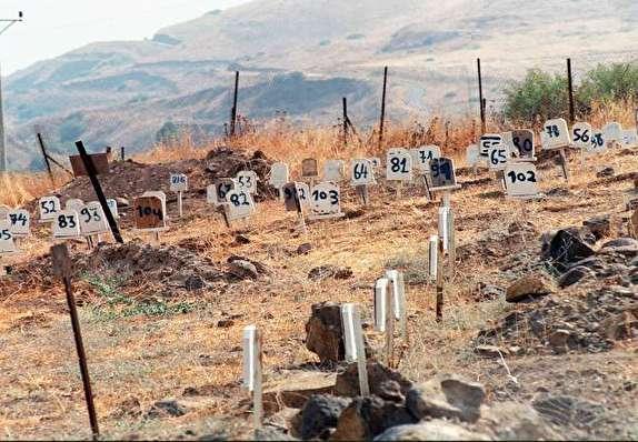 حقایقی دردناک از قبرستان شمارهای شهدای فلسطینی/چرا آلخلیفه از پیکر شهدای انقلاب بحرین هم وحشت دارد؟+تصاویر